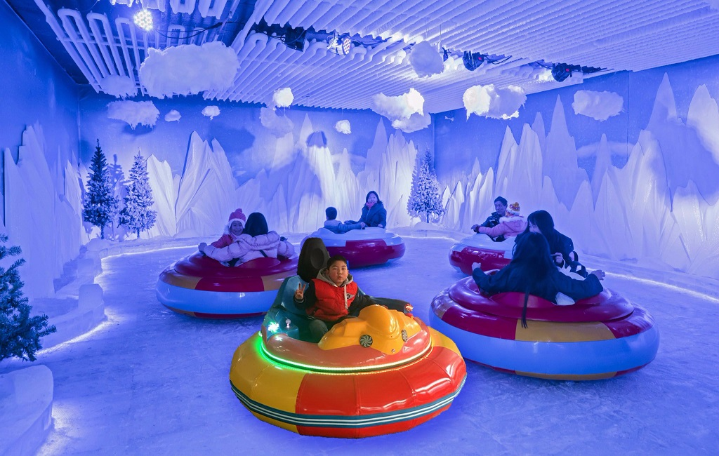 Bumper Cars Very N'Ice